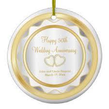 50th wedding anniversary christmas ornament best 50th wedding anniversary gifts t shirts art posters