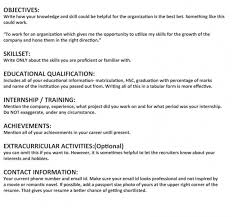 Manual Testing Sample Resumes by How To Write A Resume For A Fresher In India Affordable Academic