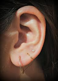 tiny hoop earrings small gold hoop earrings 14k