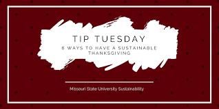 how to a sustainable thanksgiving