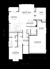 alan mascord house plans great room floor plans vaulted ceiling cathedral plan open ranch