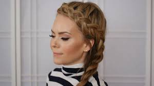 braided headband braid headband tutorial side braid