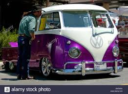 volkswagen purple vintage volkswagen kombi california usa stock photo royalty free