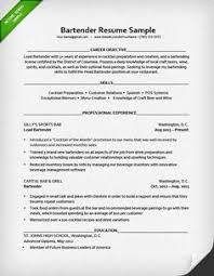 Examples Of Server Resumes by Server Resume Sample Resume Pinterest Job Search Job Resume