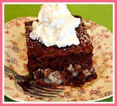 sweet tea and cornbread german chocolate upside down cake also