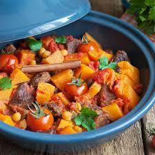 cuisine marocaine tajine recette tajine de bœuf épicé au potiron facile rapide