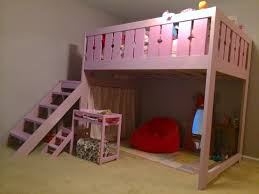 Ana White Build A Camp Loft Bed With Stair Junior Height Free by Ana White Modified Camp Loft Bed Full Size Diy Projects