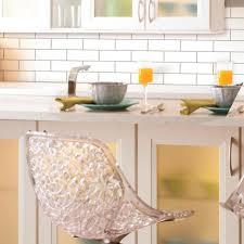 Kitchen Backsplash Peel And Stick by Classic Subway Sticktiles Peel U0026 Stick Backsplashes Roommate