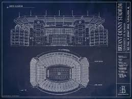 Blueprints by Beautiful Bryant Denny Architectural Blueprints Now Available And