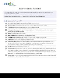 spanish visa application form pdf fill online printable