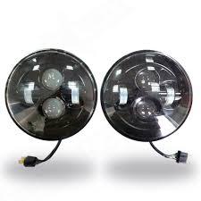 jeep black headlights aurora led jeep headlights nox lux