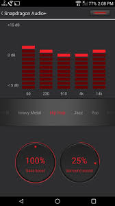 equalizer apk how to boost your htc one s audio quality with snapdragon audio