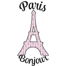 paris bonjour and eiffel tower graphic decal custom sized paris bonjour and eiffel tower graphic decal custom sized personalized