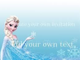 Frozen Invitation Cards Fabulous Frozen Party Invitations Free With Frozen Party