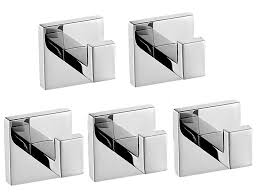 Toilet Stainless Steel Five Modern Square Stainless Steel Bathroom Toilet Wall Mounted