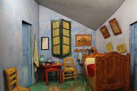 vincent van gogh janemcmaster peek inside the closet of this 3d replica of vincent van gogh s bedroom in arles