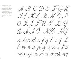 9 best images of fancy cursive alphabet letters fancy script