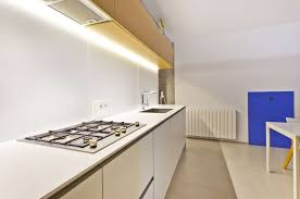 kitchen sleek kitchen design with white cabinet and granite