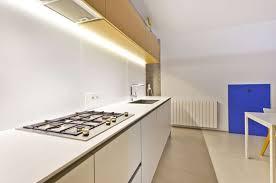 kitchen sleek kitchen design with white cabinet and granite