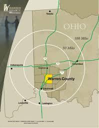 Warren Ohio Map by Warren County Port Authority