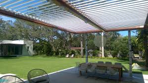 Louvered Patio Roof Alumicenter Inc Partners With Equinox Louvered Roof To Introduce