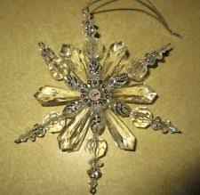 snowflake ornament ebay