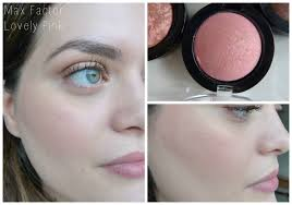 makeup over mind review swatches max factor creme puff blush collection