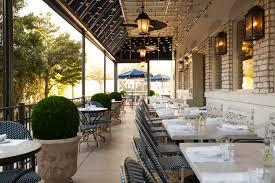 Restaurant Patio Design by Press La Table Houston