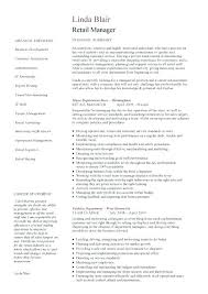 retail manager resume template retail manager resumes sle resume for a retail manager retail