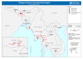 pacific region map pacific regional reference map refugee cs in pacific