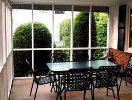 Screened In Patio Ideas How To Screen In A Porch On A Budget Video Hgtv