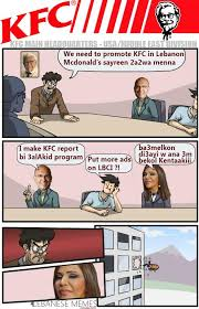 Lebanese Memes - lebanese memes on twitter kfc meeting with a7lam p arabidol