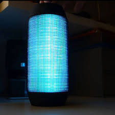 best portable bluetooth speakers with bass and led pulse light