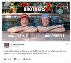 Will Ferrell Meme Origin - fact check step brothers 2 rumors are false