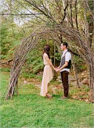 wedding arches branches aisle style rustic wooden arch aisle decor inspiration chic