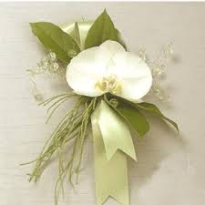 Wedding Wrist Corsage Orchid Corsage White Orchid Corsage Orchid Wrist Corsage