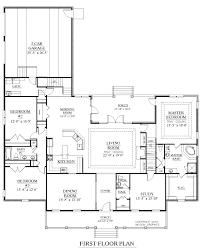 side split floor plans house plans with garage at 45 degree angle