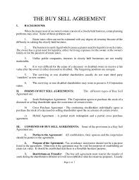 Sample Investment Agreement Understanding The 3 Fundamentals Of A Buy Sell Agreement Free