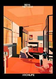 film starts and modernist houses in archilife by federico babina