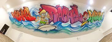 Surf Mural by Elan Wonder U2013 Surfs Up In Manasquan
