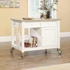mobile kitchen islands sauder 416879 mobile kitchen island sauder the furniture co