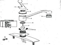 how to repair single handle kitchen faucet moen single handle kitchen faucet repair diagram kitchen faucet
