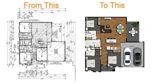 how to create floor plan how to create a 2d colour floor plan or rendered floor plan with