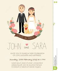 Wedding Invitation Card With Photo Wedding Invitation Cards With Bride And Groom And Their Dog Pet