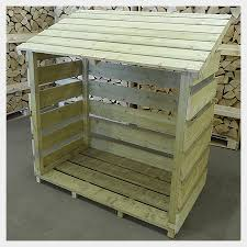 wood store how to store kiln dried logs