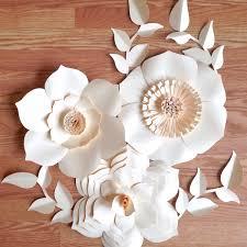 paper flower backdrop giant paper flowers wedding centerpiece