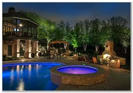 outdoor pool deck lighting inspiring ideas for pool deck lighting decks home decorating