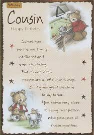 cousin birthday card quotes and pic happy birthday cusin birthday cards for cousins
