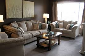 chocolate brown and blue living room ideas blue paint color ideas