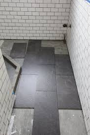 Classy 20 Concrete Tile Bathroom by What U0027s The Best Tile Layout For My Bathroom Straight Or